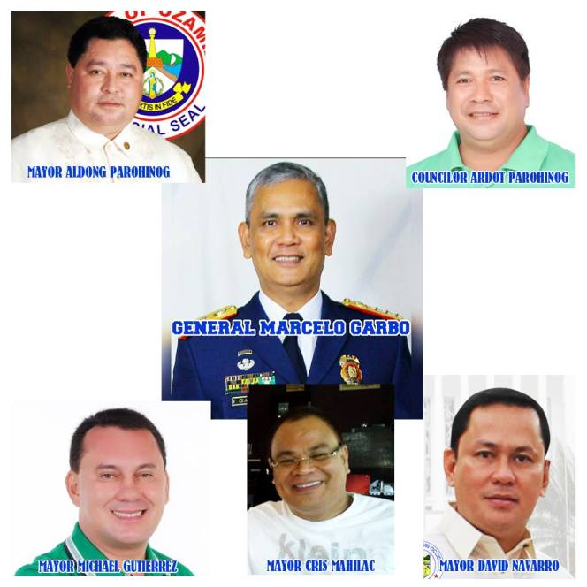 pnp garbo ozamis city mayor parohinog clarin mayor navarro sinabacan mayor mahilac lopez jaena mayor gutierrez  all in misamis occidental