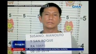 pnp dragon hired killer caught in batangas