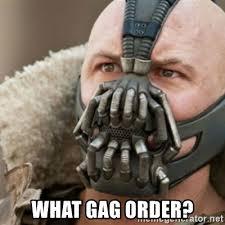 19 gag order