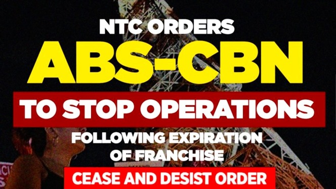 abs cbn cease and desist